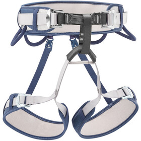 Petzl Corax Cinturón de escalada, jeans blue